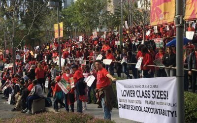 LA Strike: Self-Mobilization of Teachers and Communities