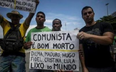 Brazil's Racial Capitalism: Further Disruption of Democracy and Fall of the Left Increases the Risk of Fascism