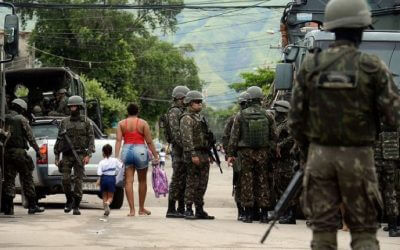 Brazil's Racial Capitalism at a Turning Point: Rising Militarization after Two Decades of Workers' Party Government